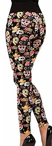 Forum Novelties Women's Day Of The Dead Leggings