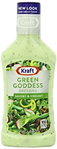 Kraft Seven Seas Green Goddess Dressing, 16-Ounce Plastic Bottles (Pack of 6)