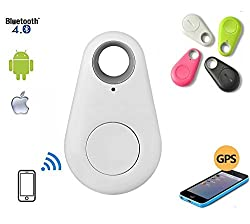 Generix Wireless Bluetooth 4.0 Anti-lost Anti-Theft Alarm Device Tracker GPS Locator Key/Dog/Cat/Kids/Wallets Finder Tracer w/ Camera Remote Shutter & Recording for iPhone iPad & Android 4.0 Smartphone (Multi-colour) Colour As Per Availability