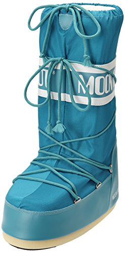 Moon Boot, Tecnica Nylon, Stivali, Unisex, Turchese (Turquoise (Turchese)), 42-44