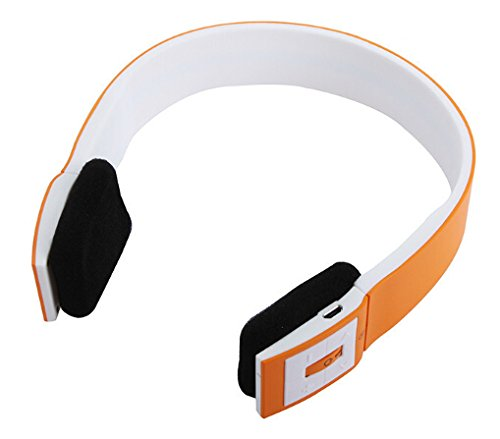 Tobestronger Bluetooth Headphones - Built In Microphone - High Quality Sound - Perfect Fit Sleek Design(Orange)...Delivered In 10 Business Days