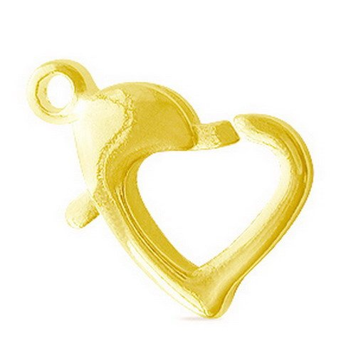 Gold Filled Heart Shape Clasp Fg-144-8Mm