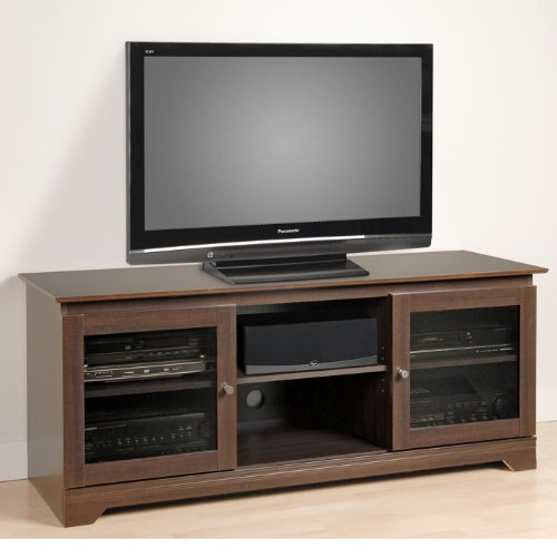 Cheap Prepac Francesca 60″ Wide TV Stand Console (Espresso) (EFG-5924-K)