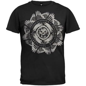 Apocalyptica - Mens Circular T-shirt X-large Black