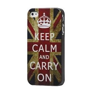 Loggerhead Vintage Keep Calm Hard Snap Case for Apple iPhone 4 4s from Loggerhead