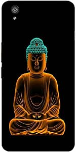 Snoogg Buddha Glowing Peace Hard Back Case Cover Shield For One Plus X / Oneplus X