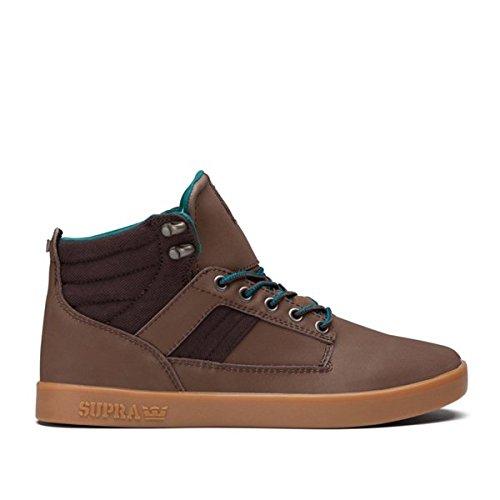 Supra - Sneaker BANDIT, Unisex adulto, mustard/schwarz/weiss, 40.5
