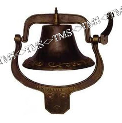 Large Cast Iron Farmhouse Dinner Bell