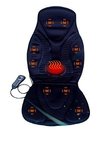 New-Five-Star-FS8812-10-Motor-Vibration-Massage-Seat-Cushion-with-Heat-Neck-Shoulder-Back-Thigh-Massager-with-Heat-Black
