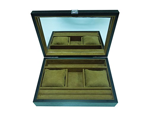 Musecode Wood Grain Jewelry Box( B.08.10002A)