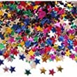 Multi Colour Mini Star Sequins Glitter 4 Tubes
