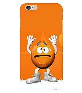 99Sublimation Cartoon Hand Up 3D Hard Polycarbonate Back Case Cover for Apple iPhone 6s Plus :: Apple iPhone 6s+