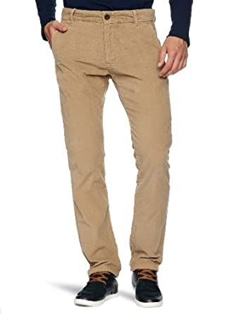 Tommy Hilfiger Fallon FA12 CRD GD Slim Men's Trousers Brown Khaki W29 INxL32 IN
