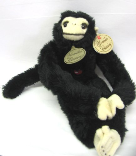"Yomiko Black Chimpanzee (14"" Plush Toy) by Russ"