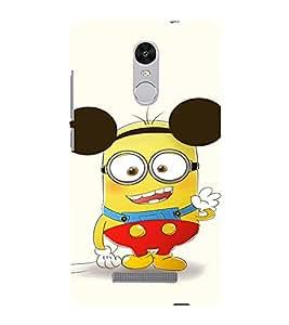 EPICCASE Funny Minion Mobile Back Case Cover For Xiaomi Redmi Note 3 (Designer Case)