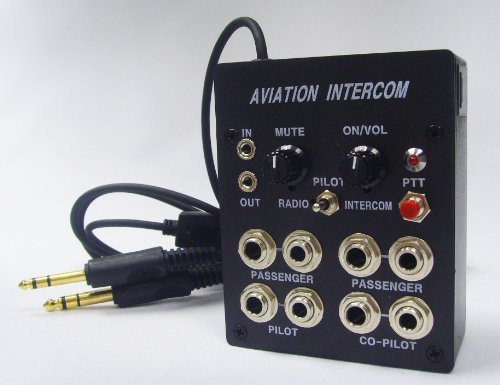 Skylite 4 User Aviation Aircraft Intercom Aic40P