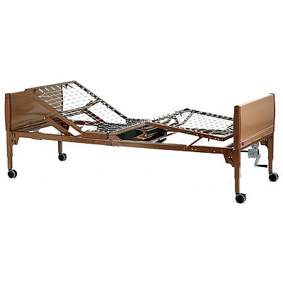Value Care Semi-Electric Bed Included Items: Frame, Mattress, & Half Length Bed Rail