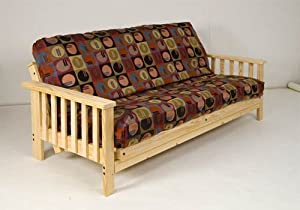 build wood futon