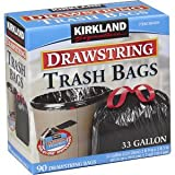 Kirkland-Signature-Drawstring-Trash-Bags---33-Gallon---Xl-Size---90-Count-90-count