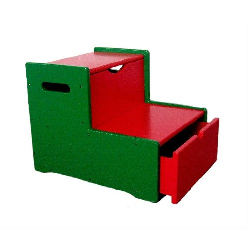 Generic Step Stool with Drawer