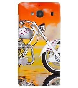 FurnishFantasy Designer Back Case Cover for Xiaomi Redmi 2 Prime