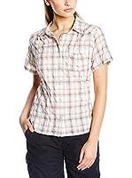 LAFUMA Camisa Mujer Ld Laukaa Shs (Blanco / Violeta)