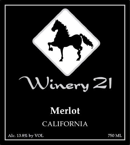 Nv Winery 21 California Merlot 750 Ml