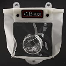 BINGO WP04-1 Camera Bag for DivingWhite