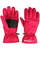 Mountain Warehouse Womens Snowproof Winter Warm Snowboard Skiing Fleece Adjustable Cuffs Ski Gloves