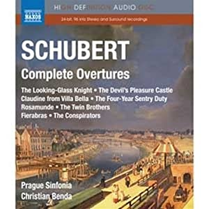 Schubert Complete Overtures Blu-ray from NAXOS BLU-RAY AUDIO