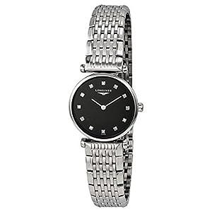Longines Le Grande Classique Black Dial Steel Ladies Watch L4.209.4.58.6