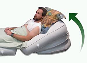 """51% OFF X-mas Sale. * Sleep Apnea, Snoring Bed Wedge System - PATENTED with Orthopedic Research Institute's Seal! - Best natural healing solution, remedy & sleep treatment instead of CPAP, mouthpiece, or straps - Half width of queen mattress at 30"""" - 100% guarantee!"""