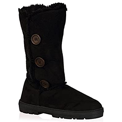 Size 6 Snow Creek Women's 5590-10999 Synthetic Winter Snow Boots