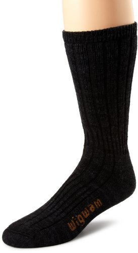Wigwam Men's Merino Hiker Socks, Black, X-Large