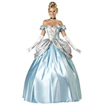 Big Sale InCharacter Costumes, LLC Women's Enchanting Princess Costume, Blue, Medium