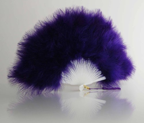 Marabou Fans 5230 Purple