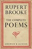 Rupert Brooke: The Complete Poems (0404146473) by Brooke, Rupert