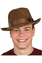 Jacobson Hat Company Men's Adult Deluxe Fedora - Suede Finish