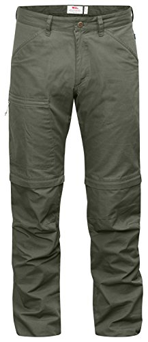 Fjällräven High Coast Trousers Pantaloni zip off mountain grey