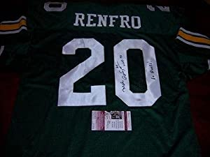 Mel Renfro Autographed Uniform - Oregon Ducks hof Go Ducks Jsa coa - Autographed NFL... by Sports+Memorabilia
