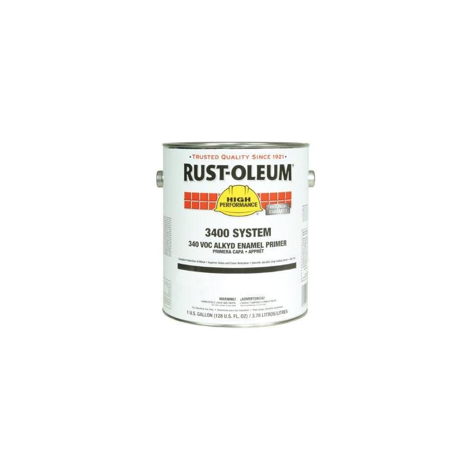 Rust Oleum   High Performance 3400 System Alkyd Enamels 402 Red Primer Low Vocind. Enamel 647 3469402   402 red primer low vocind. enamel [Set of 2]