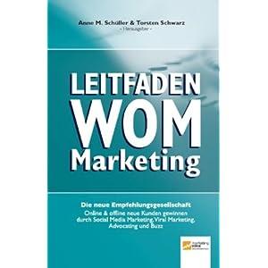 eBook Cover für  Leitfaden WOM Marketing Online amp offline neue Kunden gewinnen durch Empfehlungsmarketing Viral Marketing Social Media Marketing Advocating und Buzz