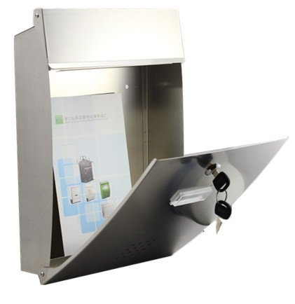 Modern Urban Mailboxes Stainless Steel Magazine Newspaper Letterboxes - - QUALITY IS TOP, ANTI-RUST, STURDY AS REVIEWS FROM CLIENT