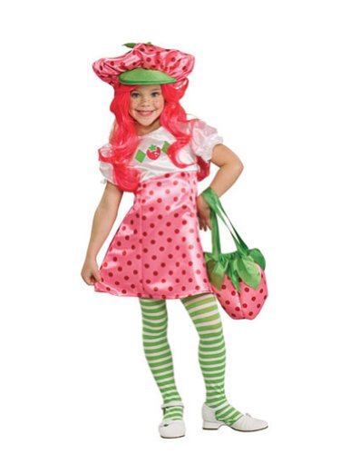 baby-girls - Strawberry Shortcake Deluxe Toddler Costume Halloween Costume