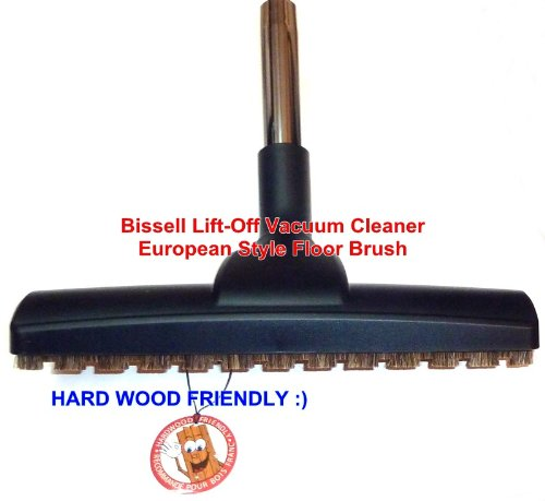 Bissell Lift-Off Vacuum Cleaner Hardwood Friendly- Horse Hair- European Style Floor Brush. at Sears.com