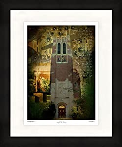 "Michigan State Spartans Artwork ""Beaumont Tower"" 11""x14"" Framed Print"