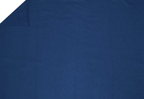 LA Linen Polar Fleece Fabric, 1.5-Yard by 58-Inch, Royal Blue (Blue Fleece Fabric compare prices)