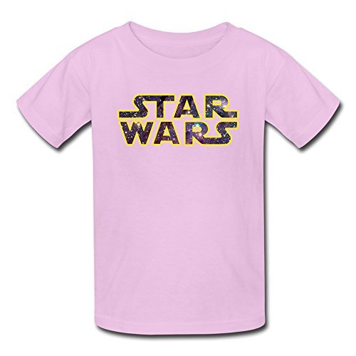 TBTJ Star Wars LOGO T-shirt For Boys And Girls 6-16 Years Old Pink Small (Book For 16 Year Old Girl compare prices)