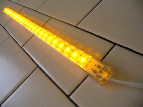 Waterproof Striplytes 25 Led Amber/Yellow 12 Volt Dc