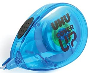 UHU Cover Up Correction Tape Mini Roller 4.2mmX6m (Pack of 3)
